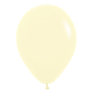 Luftballon Pastel Yellow 50 St.