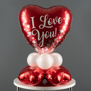 Ballon Präsent I Love You