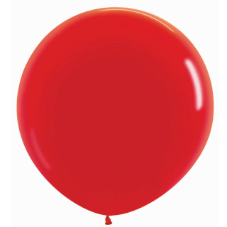 Luftballon Solid Red - 1St.