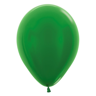 Luftballons Metallic Green 50 St.