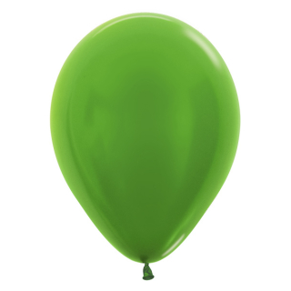Luftballons Metallic Lime Green 50 St.